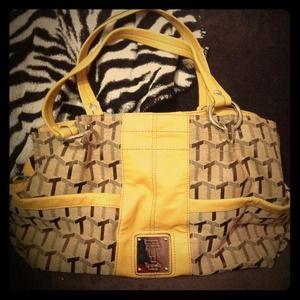 Authentic Vntge Tignanello Signaturehoney satchel