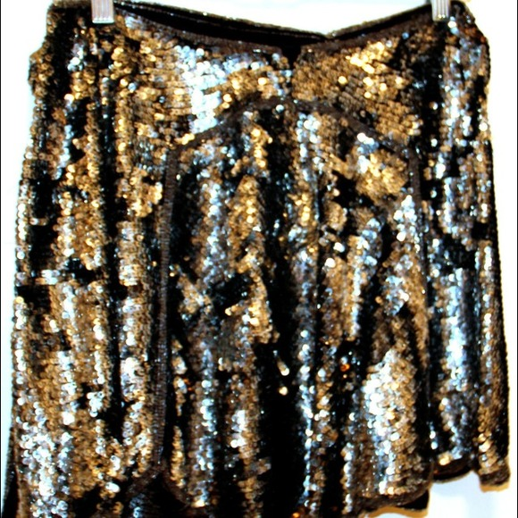 Jill Stuart Dresses & Skirts - For @ksells85 ⬇Jill Stewart Sequin Wrap Skirt 2