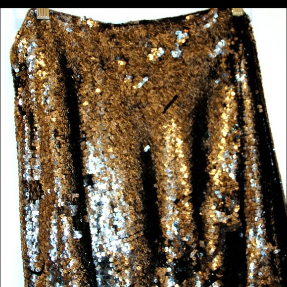Jill Stuart Dresses & Skirts - For @ksells85 ⬇Jill Stewart Sequin Wrap Skirt 3