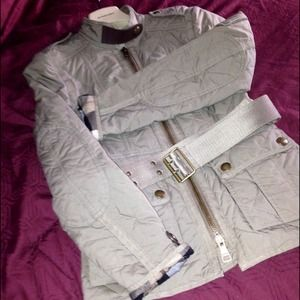 Burberry Outerwear - Burberry Brit Army Style Jacket