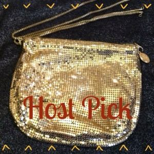 Host Pick 2X!Vintage Whiting & Davis  Bag