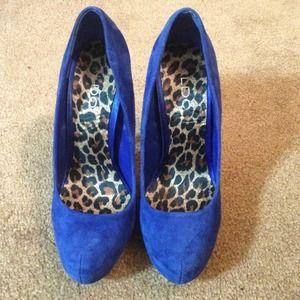 ALDO Shoes - ❗❗❗SOLD  ALDO blue suede shoes