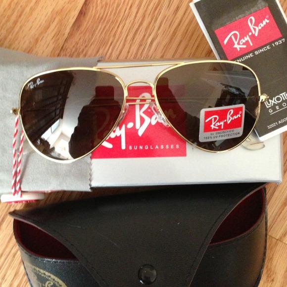 Ray-Ban Accessories - Sold!!Ray Ban Gold Aviators