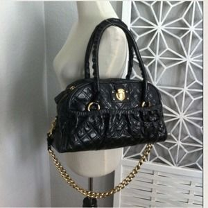 Marc Jacobs Julieanne Quilted Bowler