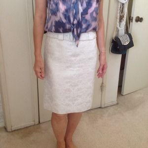 Ann Taylor Brocade Skirt