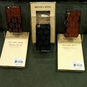 Michael Kors Accessories - MICHAEL KORS authentic IPhone 4 case 3 in stock