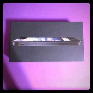 Accessories - Black/slate iPhone 5 BOX ONLY! Phone not included!