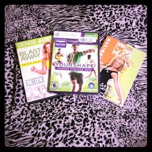 Accessories - FITNESS BUNDLE! XBox 360 Kinect Your Shape Fitness