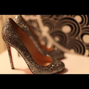 Christian Louboutin Shoes - Christian Louboutin Glitter Pumps 2