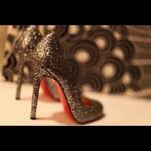Christian Louboutin Shoes - Christian Louboutin Glitter Pumps 3