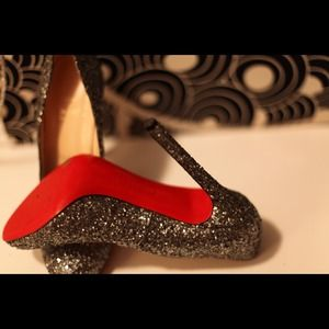 Christian Louboutin Shoes - Christian Louboutin Glitter Pumps 4