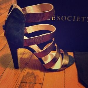 Brand new sole society sandals with bag!