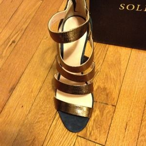 sole society Shoes - Brand new sole society sandals with bag! 2