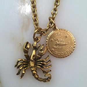 Elizabeth Cole Jewelry - Scorpio Zodiac Necklace 1