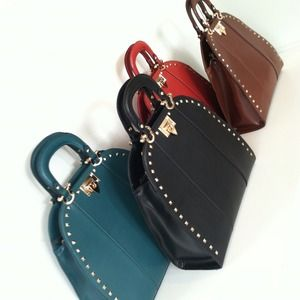Handbags - Reserved for @chickykat Structured Stud handbag