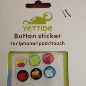 Accessories - Button stickers iphone/iPad/I touch