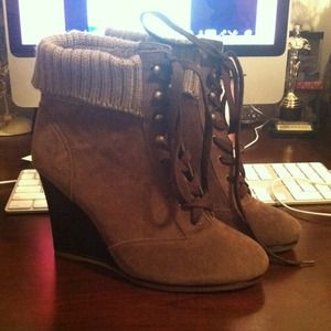 Charlotte Russe Boots - Booties