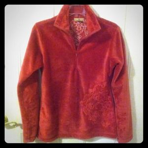Ascend Sweaters - Pink Furry Pull-over Fleece XS