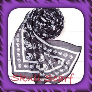Accessories - 🎀SKULL SCARF🎀