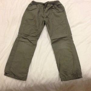 Zara boys lined drawstring pant