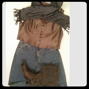 Country Road Jackets & Blazers - NW Circa1994 Vintage Country Road Australia Vest