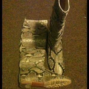 Alessandro dell'Acqua Boots - Alessandro dell'Acqua Real Snakeskin Boots