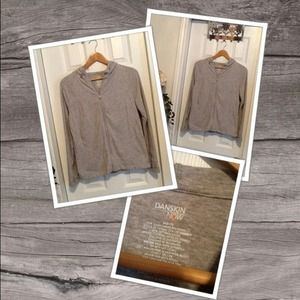 Danskin Now Jackets & Blazers - Danskin Now Long Sleeve Jacket in a Light Grey