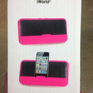 Other - iWorld Stealth Audio system 💖Hot pink