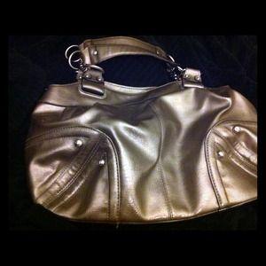 Small hobo bag with chain handles
