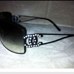 CHANEL Accessories - Diamond Chanel Sunglasses