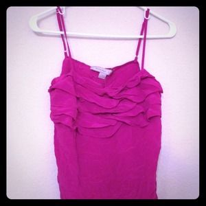 Forever 21 Tops - SOLD!!! Silky ruffle tank from Forever 21