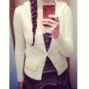 Aeropostale Sweaters - Hooded Cardigan