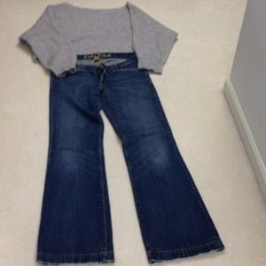 Abercrombie & Fitch Denim - Abercrombie & Fitch Ezra Fitch bell bottoms.