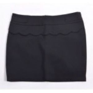 💋Cute black skirt wavy
