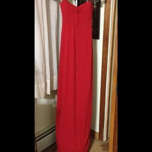 REDUCED! Beautiful Red Gown