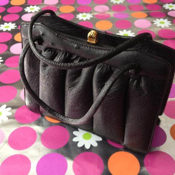 88dd58540f3e Fiorenza Handbags - Vintage authentic ostrich handbag by Fiorenza