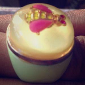 Betsey Johnson Jewelry - Betsey Johnson resin firefly ring