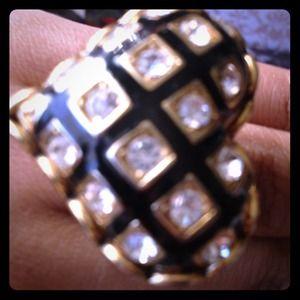 Betsey Johnson Jewelry - Heart shaped Betsey Johnson Statement Ring