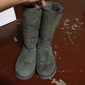 Classic Tall Grey UGG boots