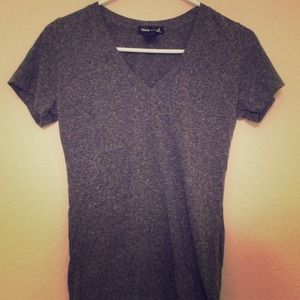 Tops - !!!SOLD!!!!! Wet Seal charcoal grey tee