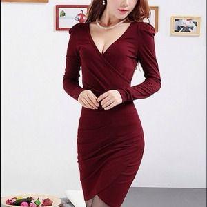 Dresses & Skirts - MWT long sleeve fashion dress