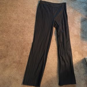 Jones New York Pants - Black tone on tone pants jones New York signature