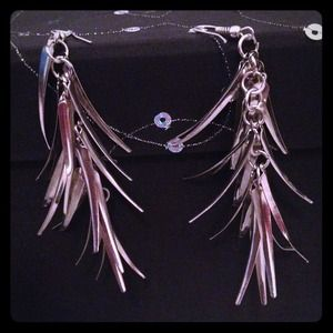 Accessories - Silver earrings