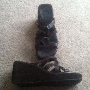 American Eagle Outfitters Shoes - Cute wedges!!
