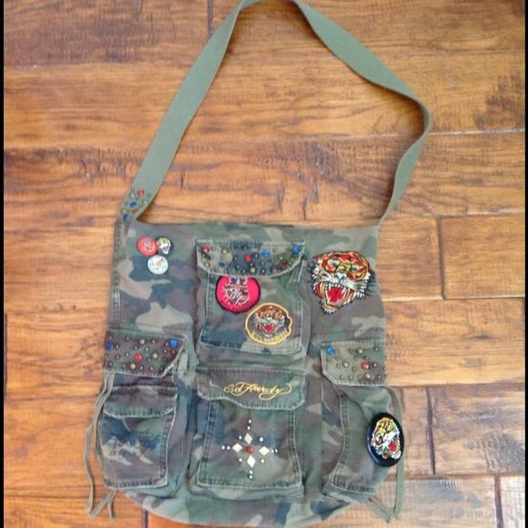 e8c216ac33 Ed Hardy Handbags - 100% Authentic Ed Hardy cross body bag.