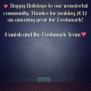 Other - Happy Holidays from Poshmark
