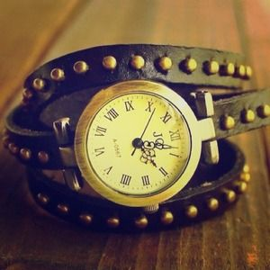 Accessories - Studded Wrap Around Watch