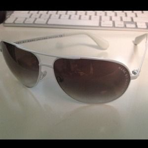 Marc by Marc Jacobs white aviator frames