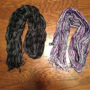 Outerwear - 2 fashion scarves