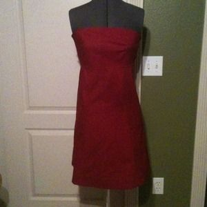 GAP Dresses & Skirts - Red Strapless Dress
